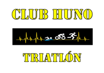 Logo club huno triatlón