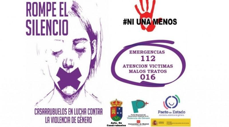 Campaña contra la violencia de género Casarrubuelos