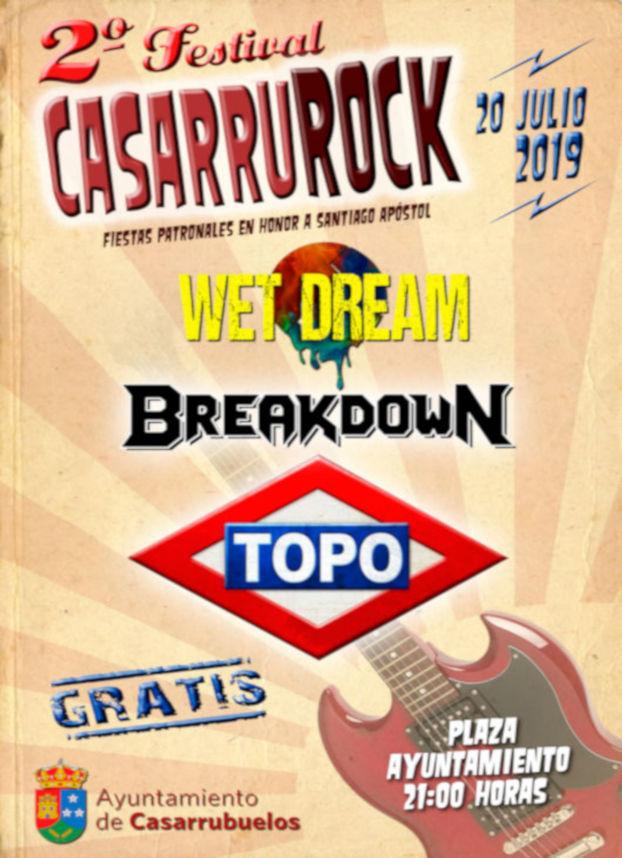 II Festival rock casarrurock - Casarrubuelos 2019