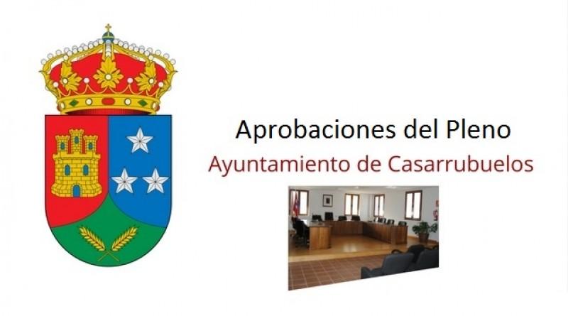 Aprobaciones Pleno Ayuntamiento Casarrubuelos