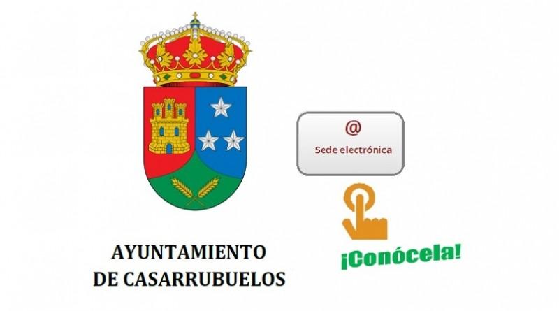Ayuntamiento Casarrubuelos Sede electrónica