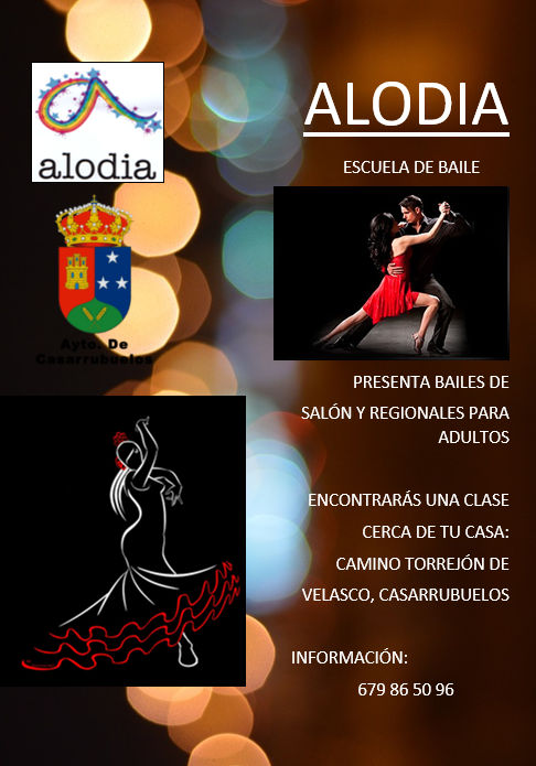 Bailes de salón y regionales en Casarrubuelos