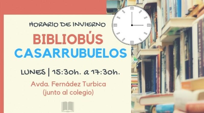 Bibliobus Casarrubuelos Horario Invierno
