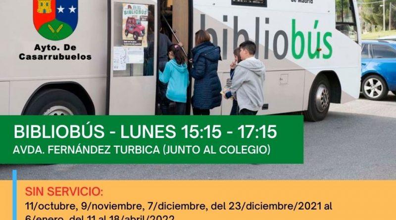 Bibliobus Casarrubuelos invierno 2021-22