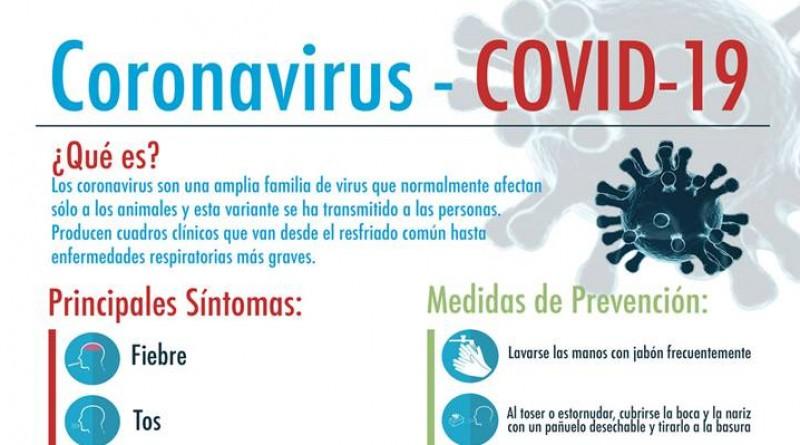Cartel coronavirus Covid-19