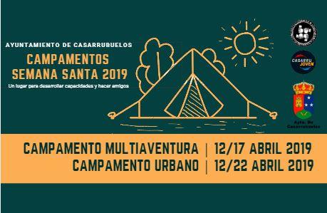 Campamentos Semana Santa 2019 Casarrubuelos