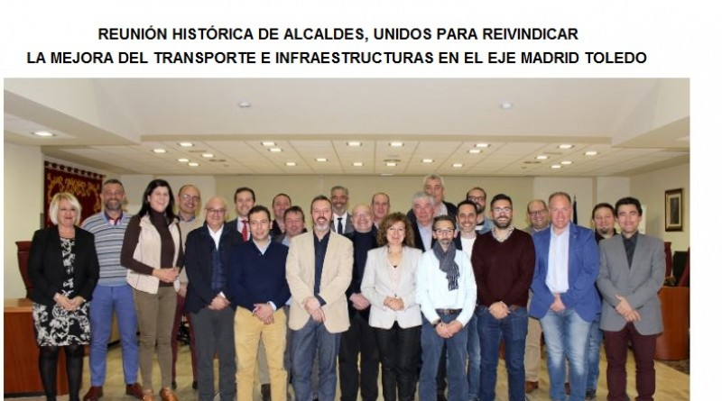mejorar transporte e infraestructura eje Madrid -Toledo