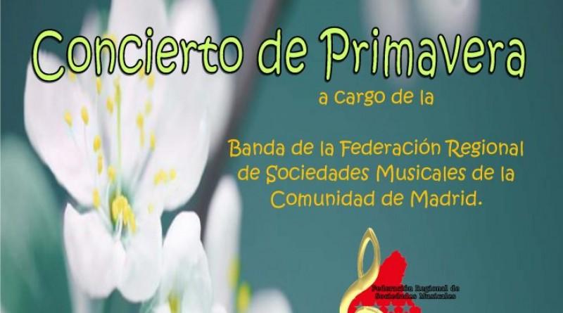 Foto concierto Primavera de la Banda Federal de la Comunidad de Madrid