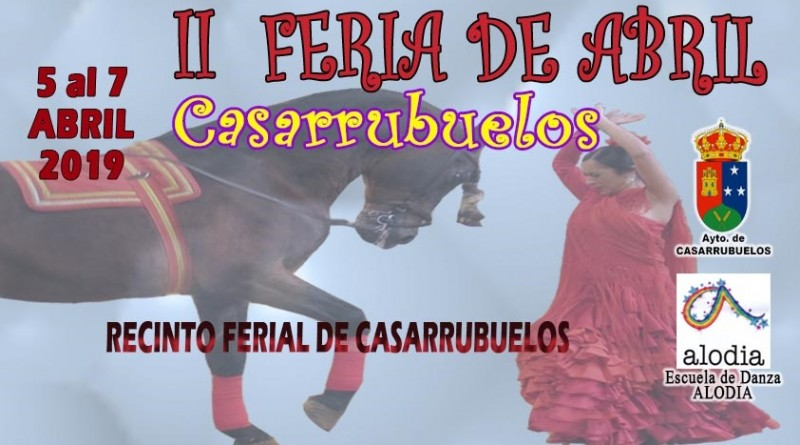 Cartel II Feria Abril Casarrubuelos 2019