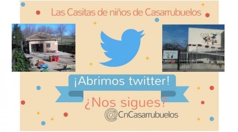 Casitas de niños Casarrubuelos twitter
