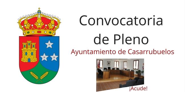 Imagen Convocatoria de Pleno Casarrubuelos