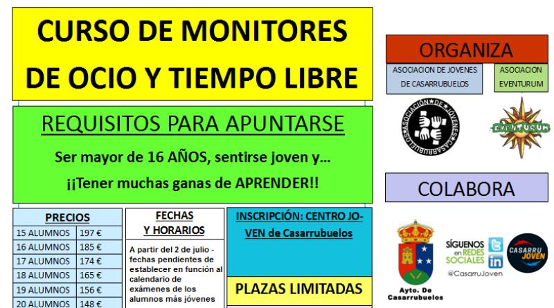 Curso monitores tiempo libre madrid sur Casarrubuelos