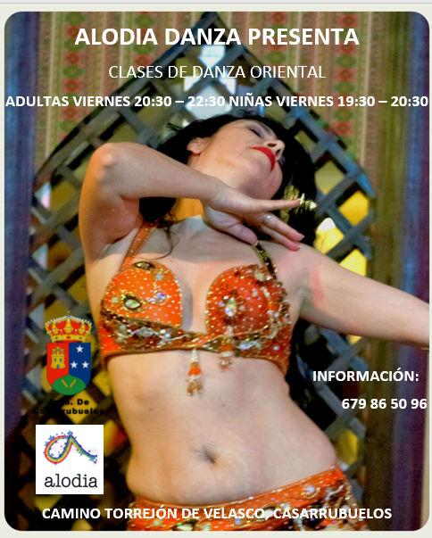 Danza oriental en Casarrubuelos