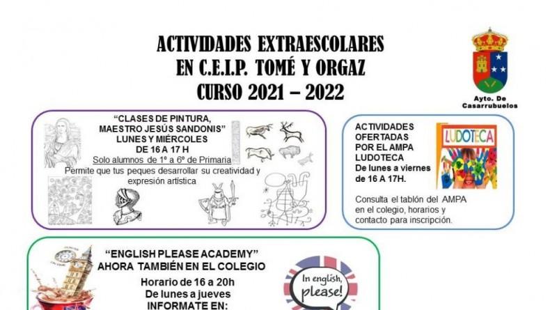 EXTRAESCOLARES 2021- 2022