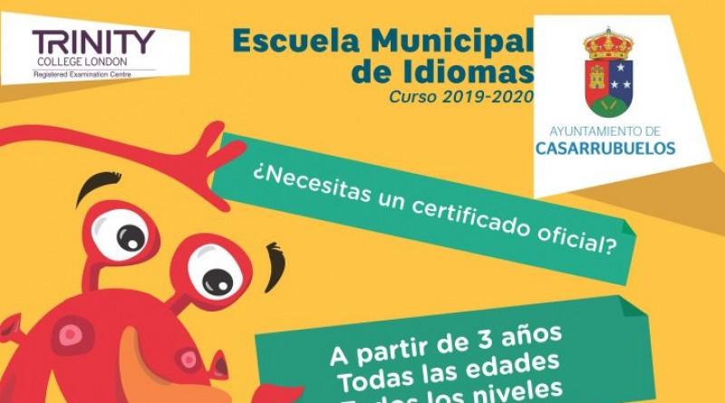 Escuela municipal idiomas Casarrubuelos 2019
