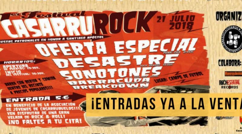 Festival Rock Casarrurock Casarrubuelos 2018