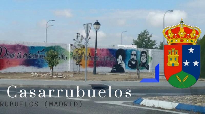 Grafiti de casarrubuelos - madrid sur