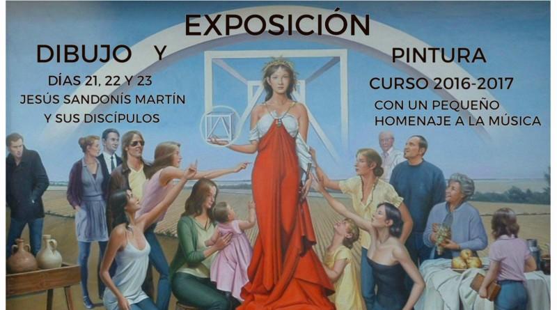 Cartel Exposición de pintura