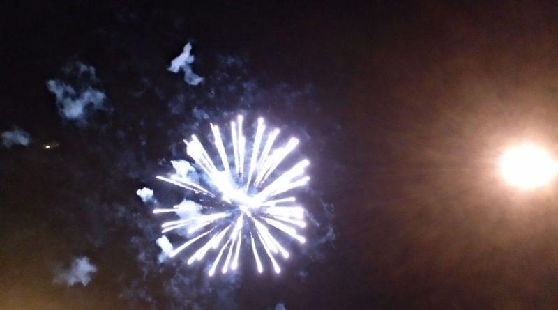 Fuegos artificiales fiestas populares Casarrubuelos