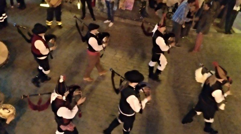 Banda musical gaitas fiestas populares Casarrubuelos