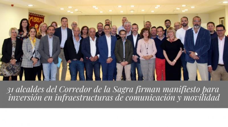 Manifiesto transporte alcaldes La Sagra