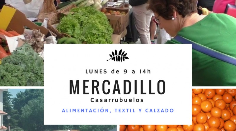 Mercadillo local casarrubuelos