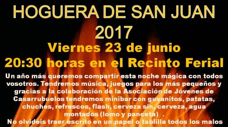 Cartel Hoguera de San Juan 2017