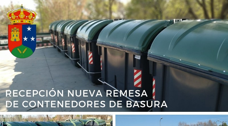 Nuevos contenedores de basura 032019