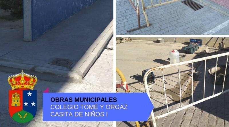 Obras municipales Casarrubuelos