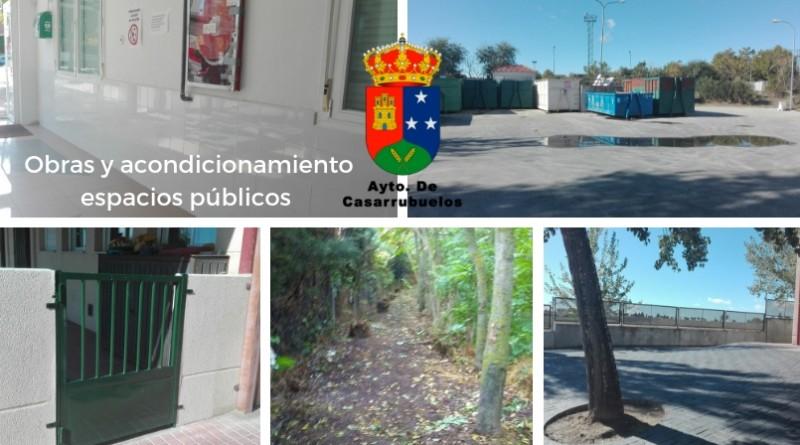 Obras y reparaciones municipales Casarrubuelos