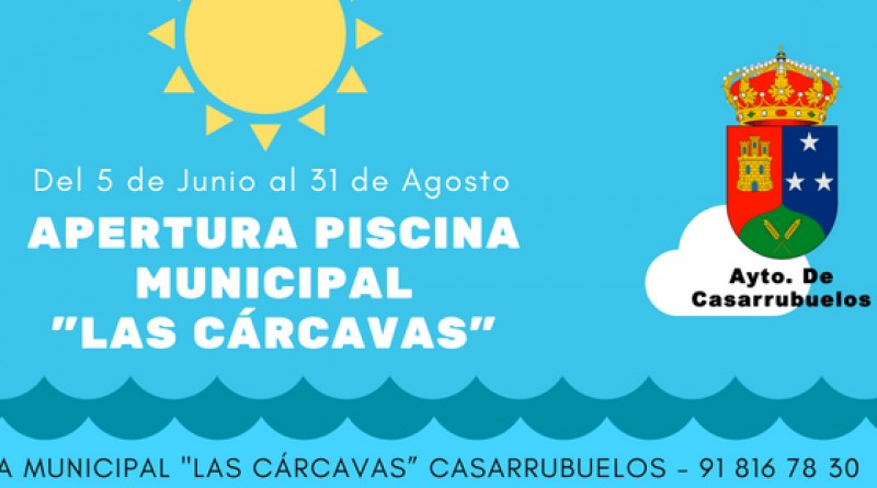Piscina municipal verano Casarrubuelos