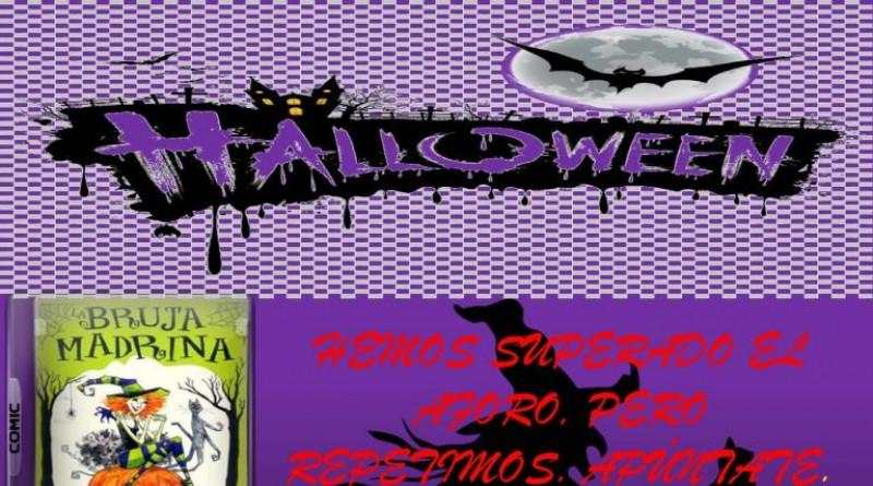 Cartel Halloween de la biblioteca, segundo día
