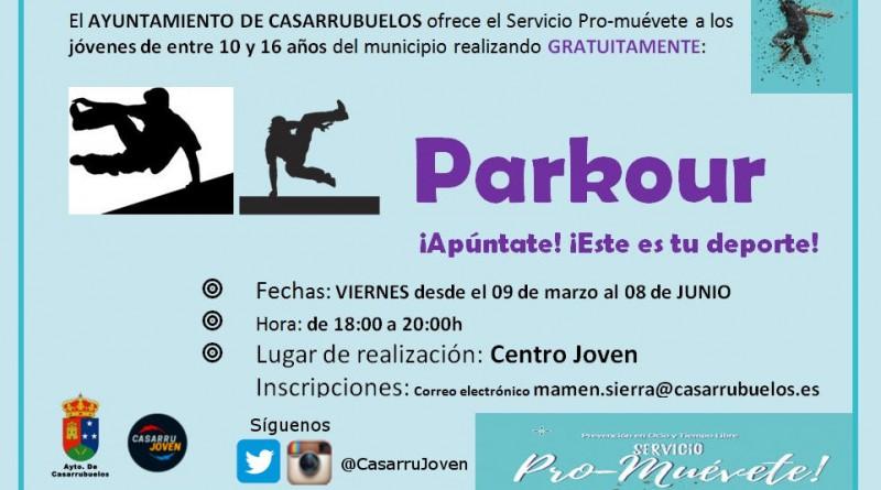 Servicio Pro-muevete ocio juvenil saludable en Casarrubuelos