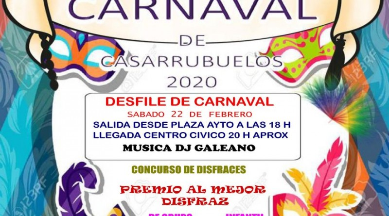 Cartel programacion carnavales 2020