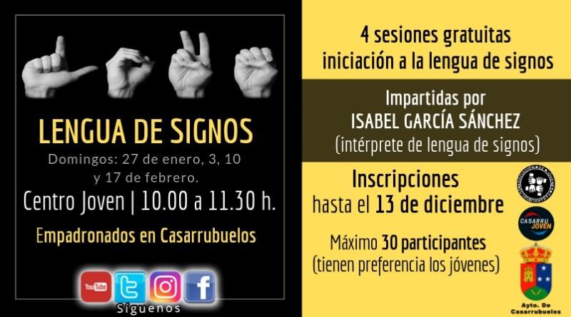 Sesiones lengua de signos en casarrubuelos