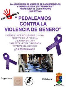 Spining contra violencia género - Casarrubuelos