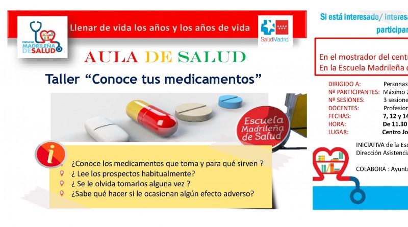 Taller conoce tus medicamentos