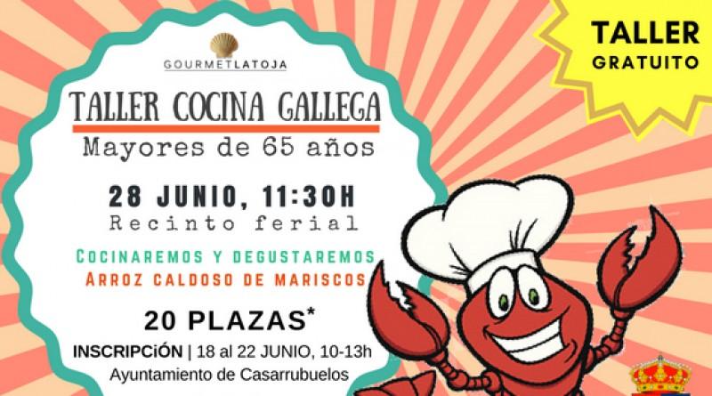 Taller cocina gallega casarrubuelos