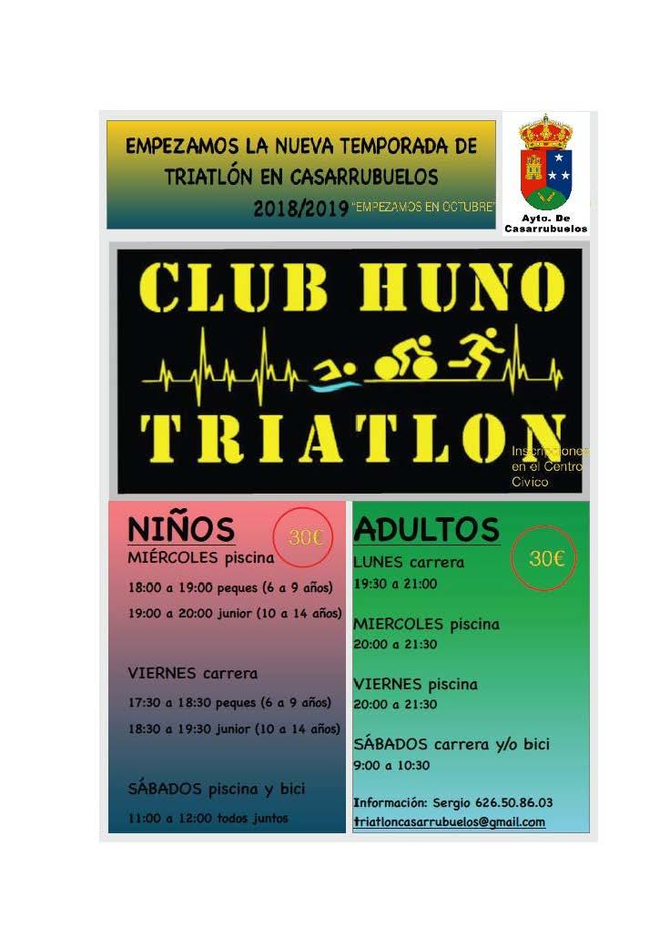 Triatlon Casarrubuelos 2018-2019
