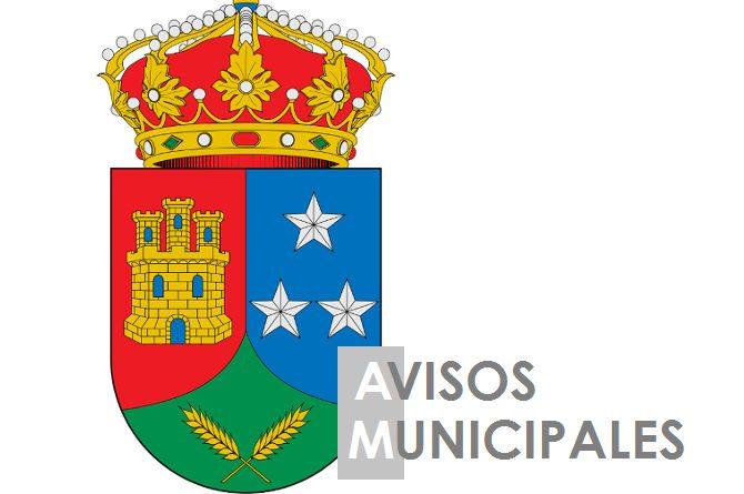 Avisos municipales Casarrubuelos